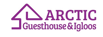 Arctic Guesthouse & Igloos logo in small side