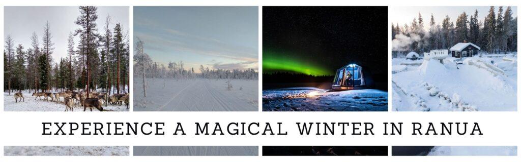 Winter activities in Ranua