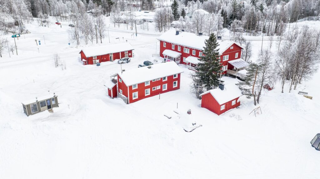 Gasthaus Ranua Inn in winter 2020