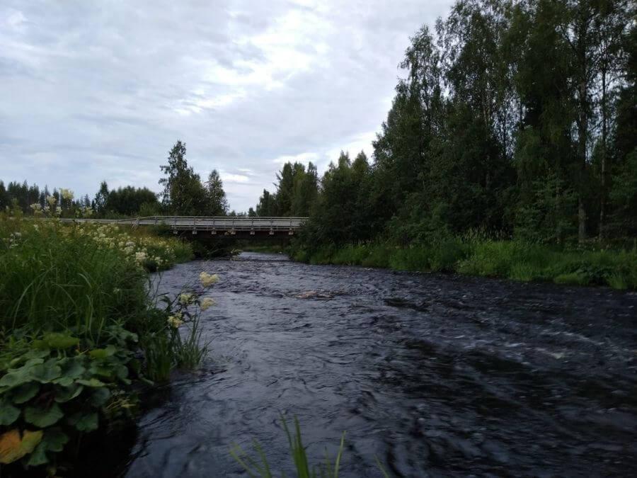 Ranuanjoen Jokikankaan koski ja silta