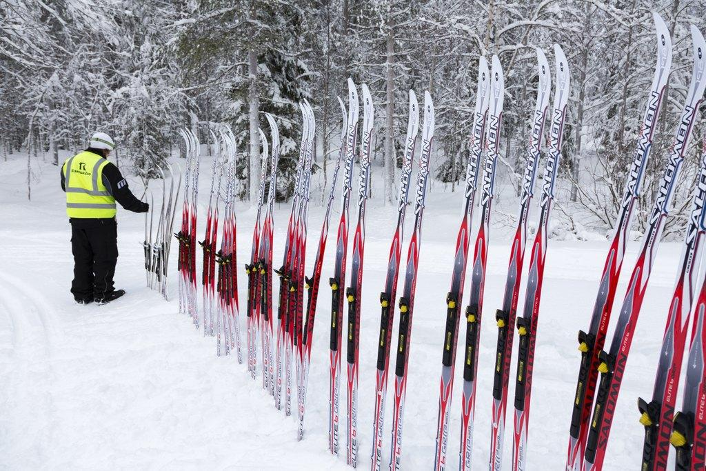 Cross country skiing lessons in Ranua