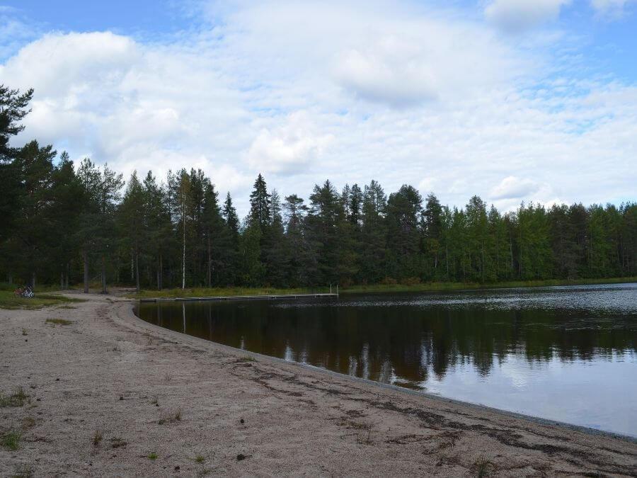 Multilahden uimaranta Ranualla