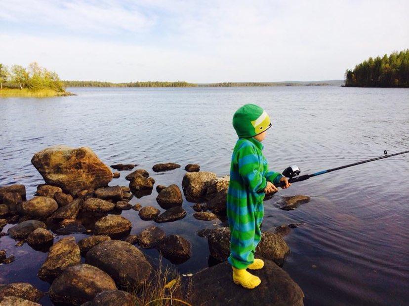 Ranua koko perheen kalastuskohteita