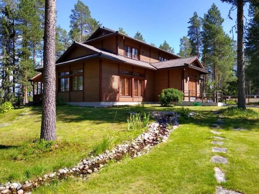 Japan house is located in Simojärvi in Ranua