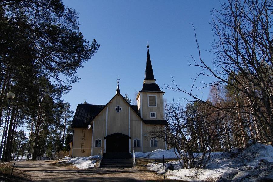 Ranuan kirkko on yksi paikkakuntamme tunnetuimmista nähtävyyksistä