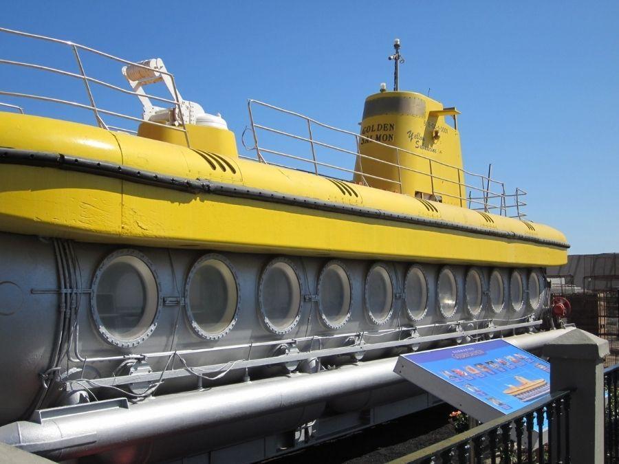 Kultainen lohi sukellusvene Gran Canarialla