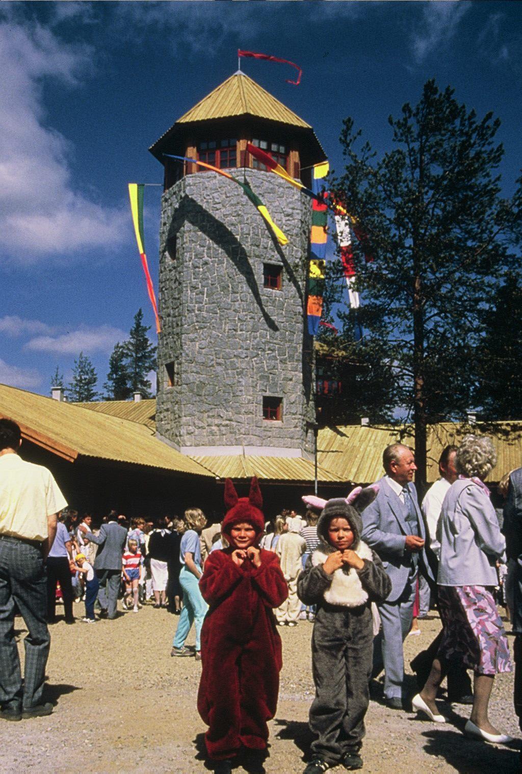 Murrr Murrr-linnan avajaiset Ranualla kesällä 1986