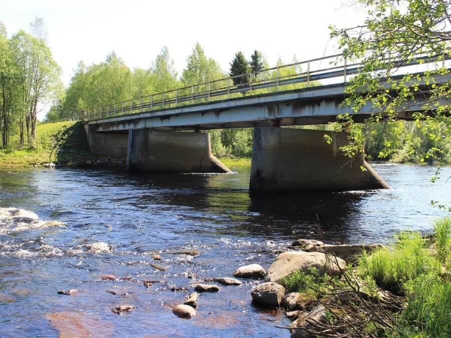 Hosionkoski ja Simojoen silta