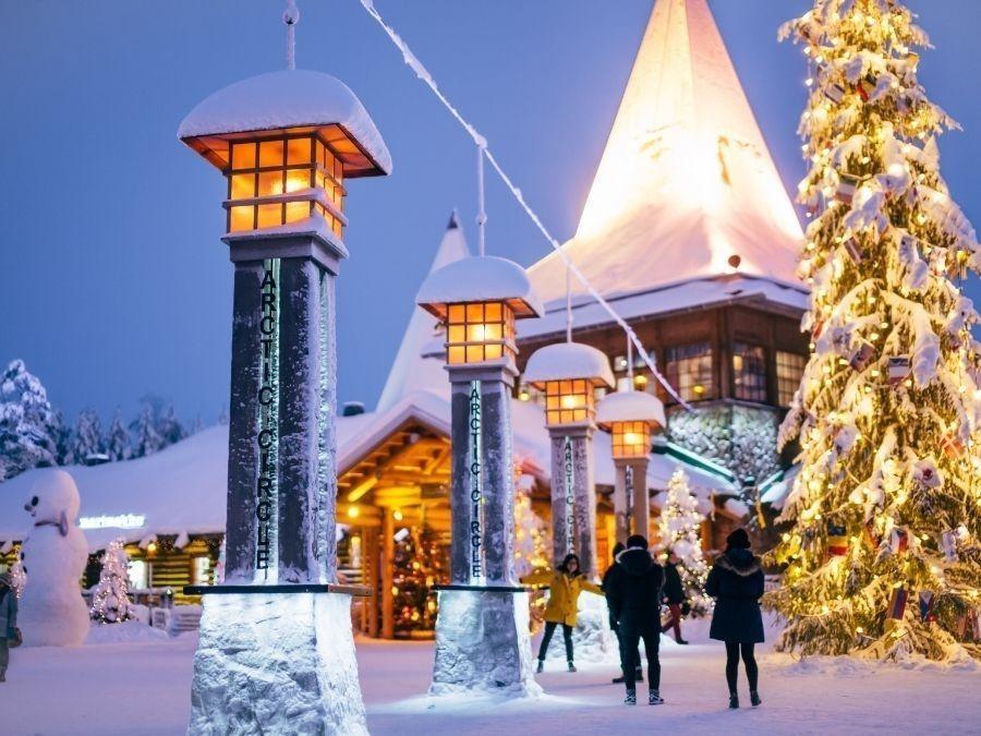 Rovaniemi on yksi Lapin matkailun suurimmista matkakohteista