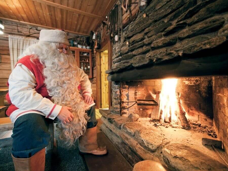Santa Claus office in Rovaniemi, Finland