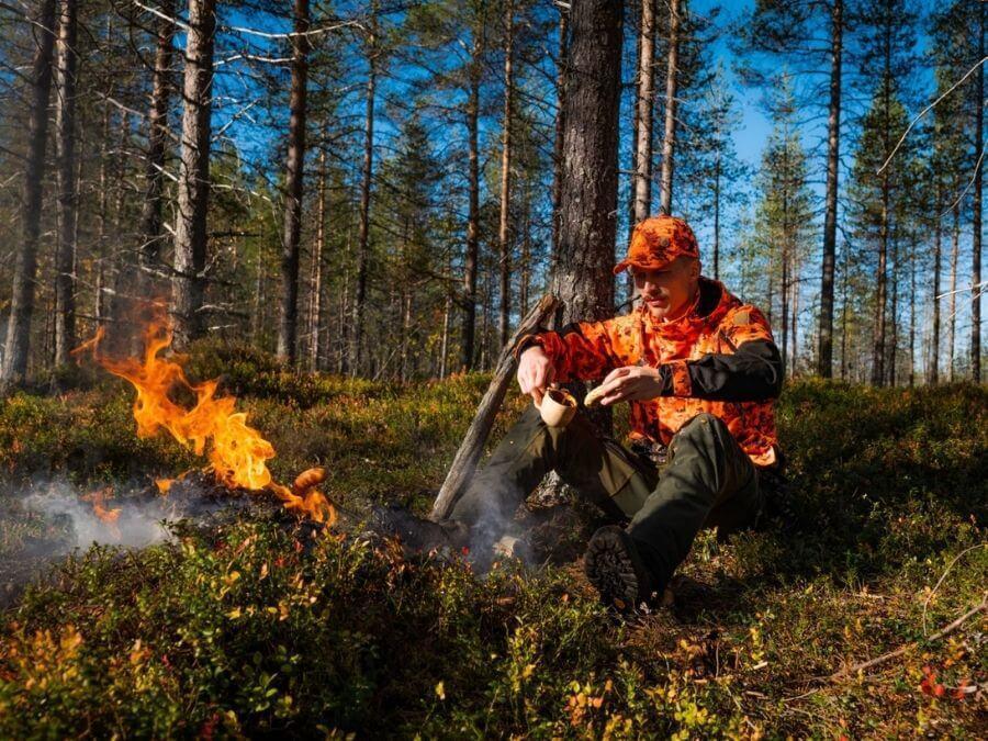 Moose hunting in Ranua, Finnish Lapland