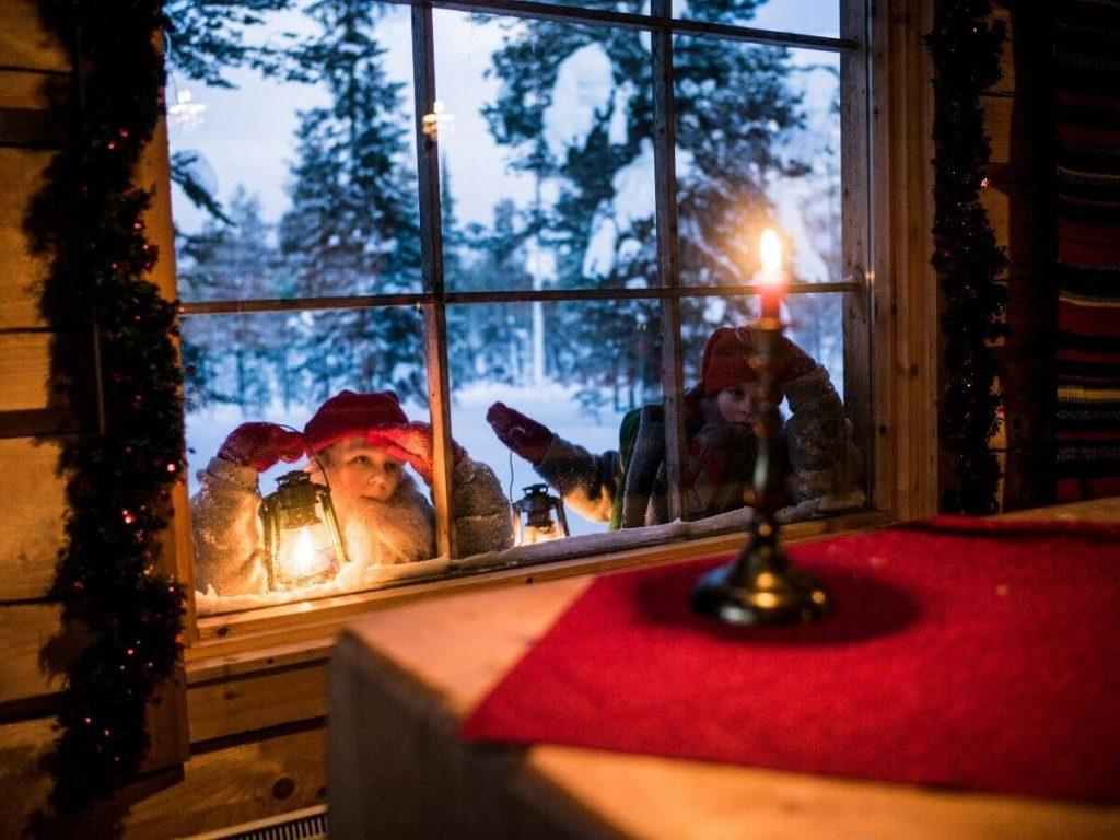 Christmas elf in Finland
