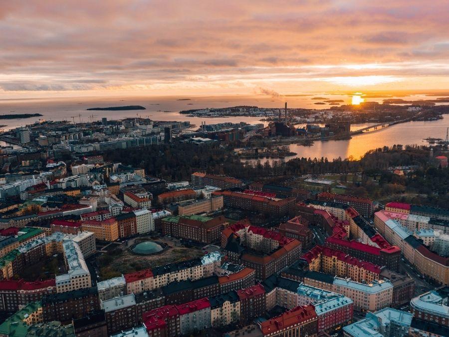 Helsinki is the capital of Finland